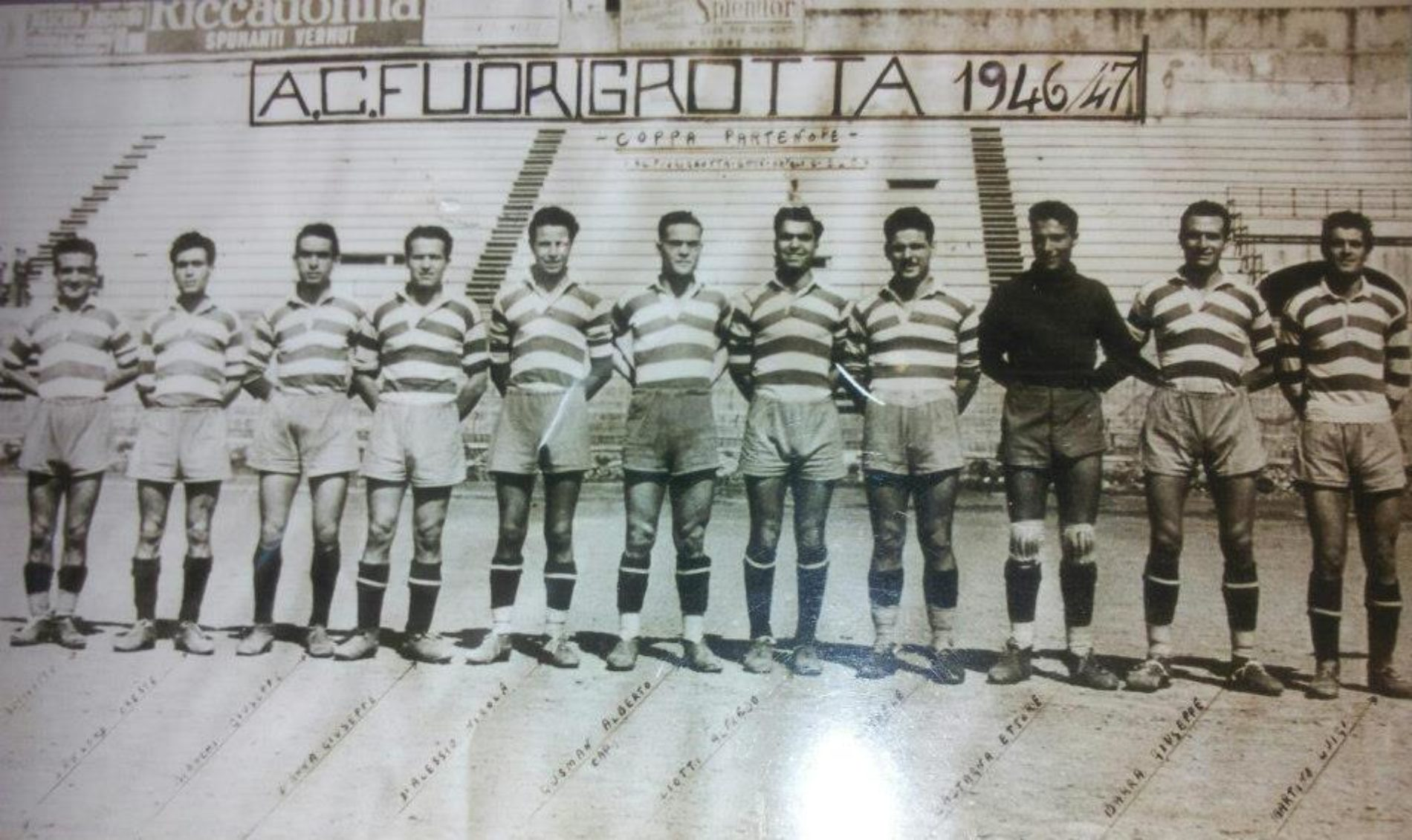 Brevi cenni della storia sportiva a Fuorigrotta