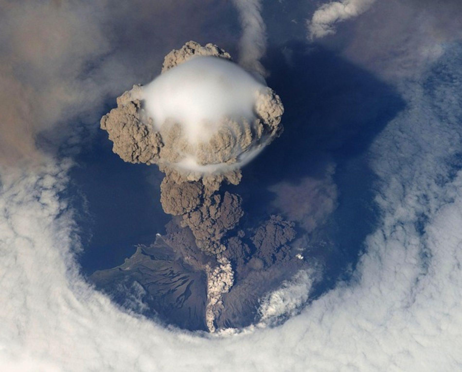Risveglio del vulcano Calbuco