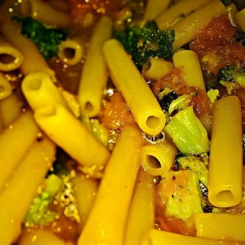 Ziti tagliati zucca&broccoli