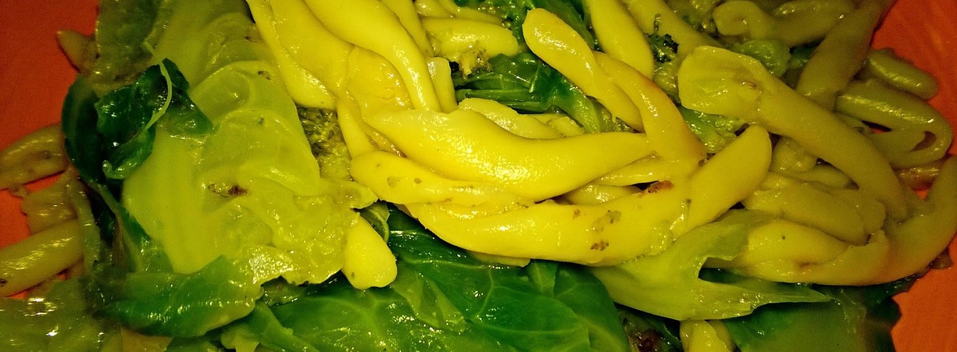 Pasta fresca broccoli&verza