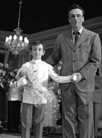 De Filippo padre e figlio Fonte: rumors.blog.rai.it