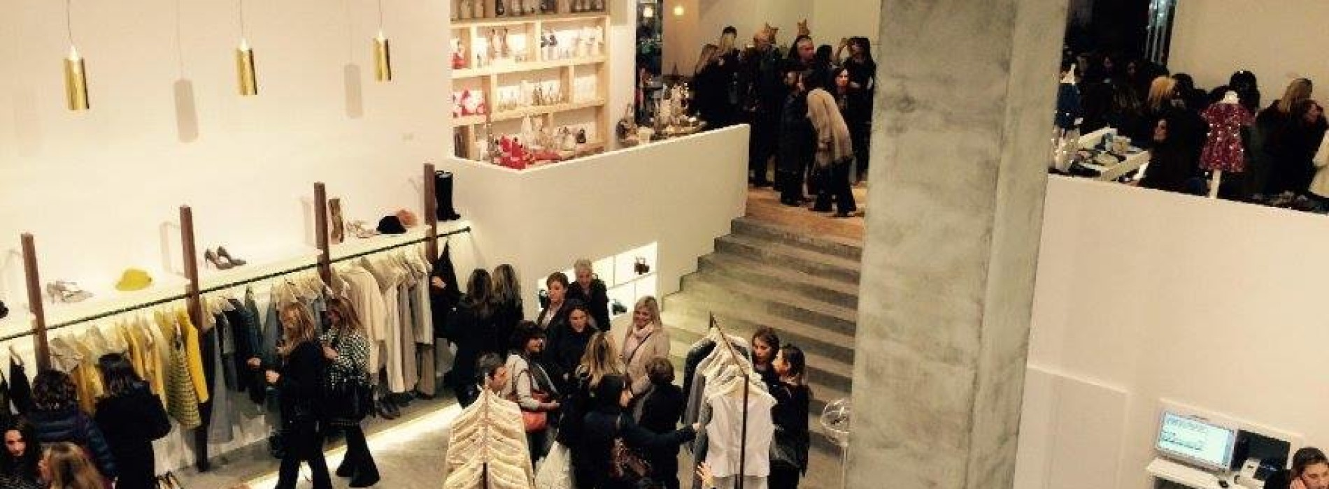 Opening del nuovo store Roberta Bacarelli