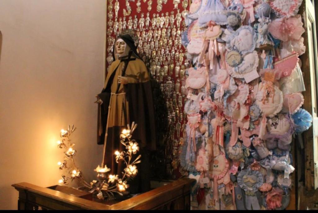 "Il santuario della ""Santarella"". Fonte: www.santuariosantamariafrancesca.it"
