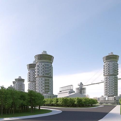 Coropolis: il quartiere del futuro secondo Nicola Pagliara