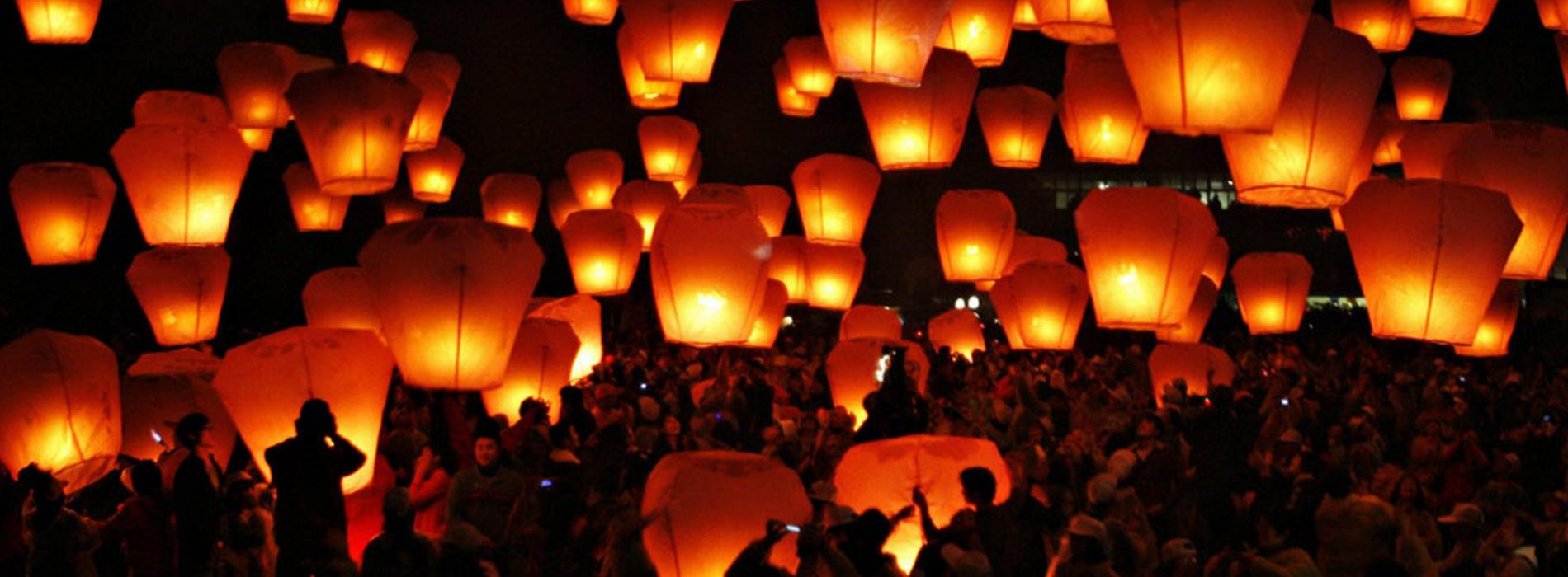Lanterne per Capodanno