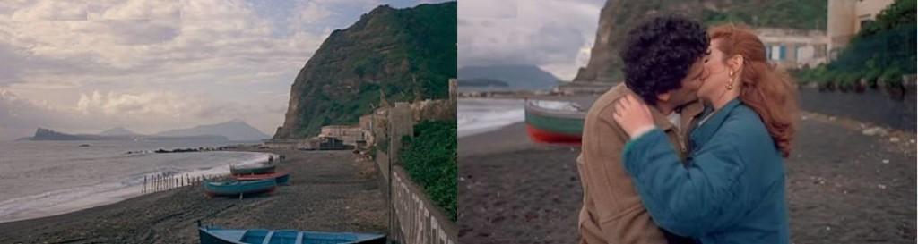 """Spiaggia di Miliscola in """"Scusate il ritardo"""". Fonte: Wikipedia"""