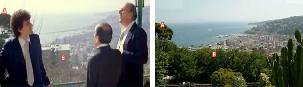 "Scena dal film ""Ricomincio da tre"" Fonti: davinotti.com e ristorantedangelo.com"