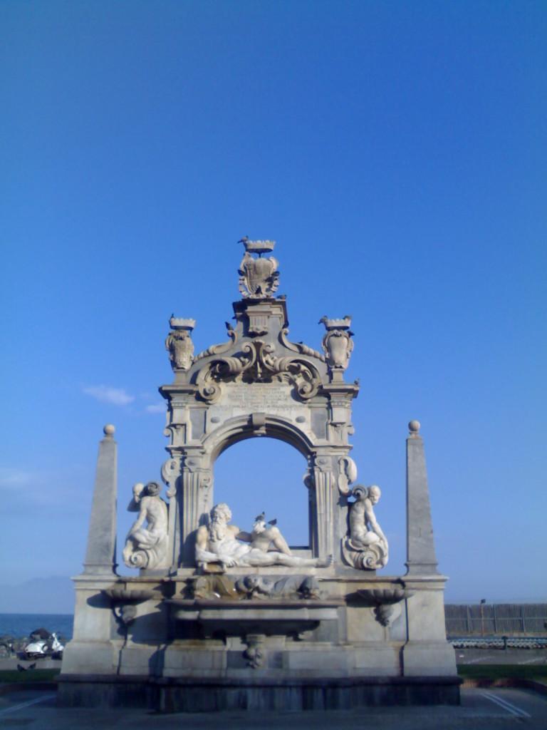 Fontana del Sebeto Fonte: Wikipedia