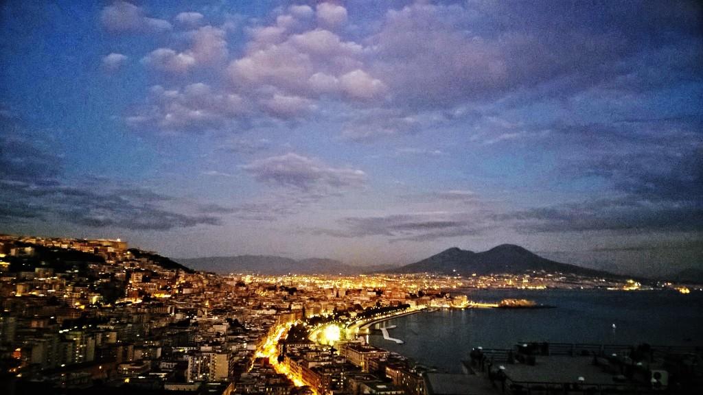 Napoli, panorama da Via Stazio, Posillipo Ph: Simona Vitagliano