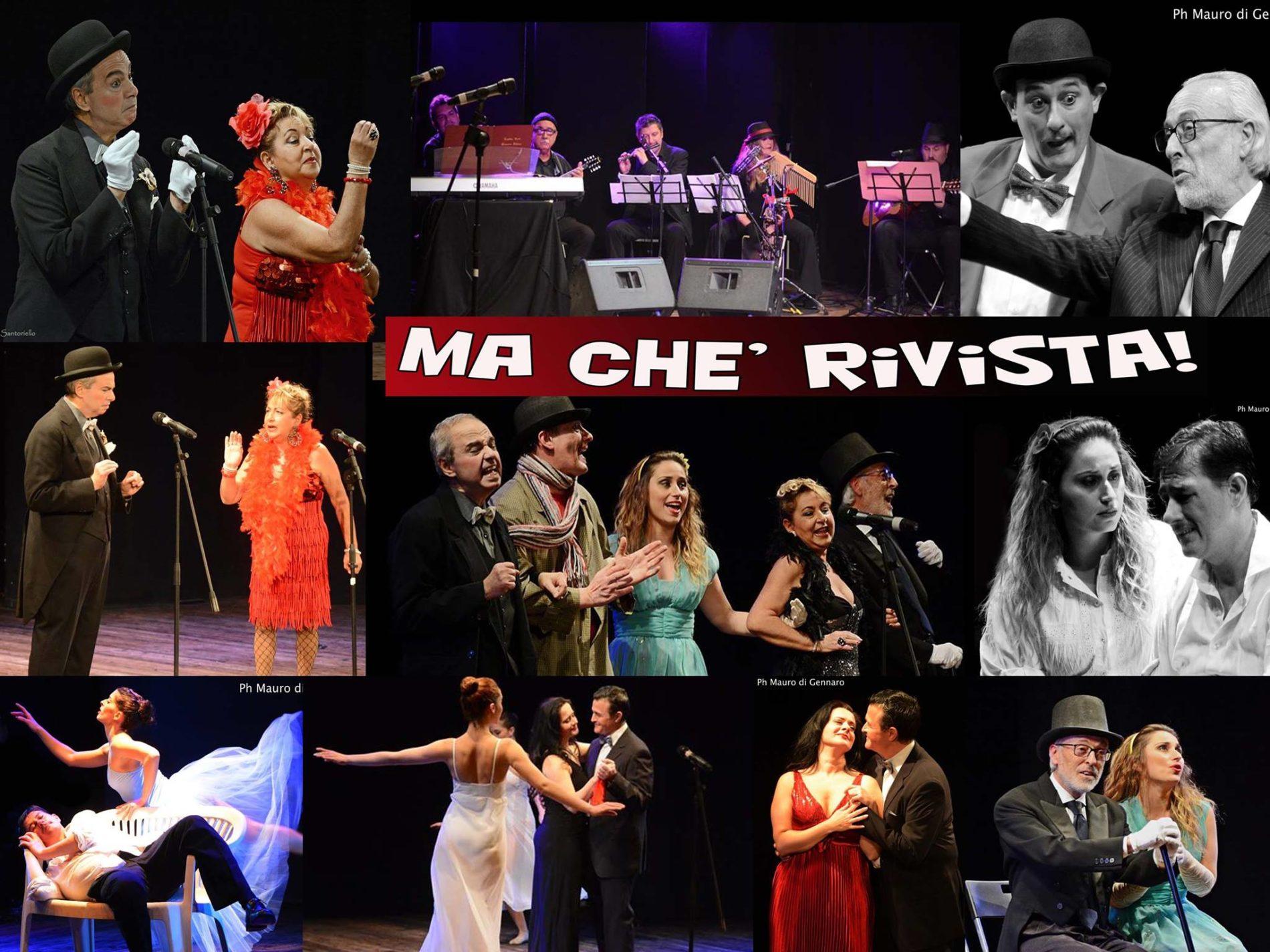 """""""Ma che Rivista!"""", spettacolo teatrale in replica straordinaria DOMENICA 06 MARZO al Teatro Bolivar"""