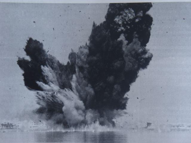 """Esplosione Caterian Costa. Fonte: """"Napoli Retrò"""" gruppo facebook"""