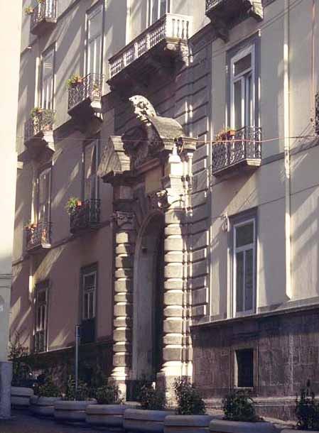 Palazzo San Severo Fonte: webalice.it
