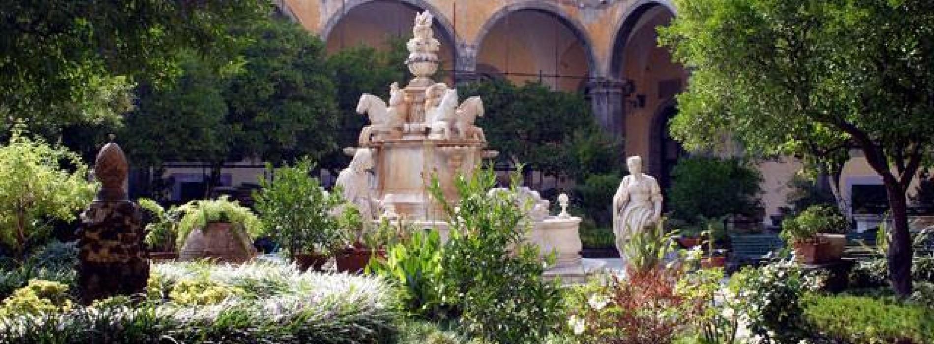 Il chiostro di San Gregorio Armeno