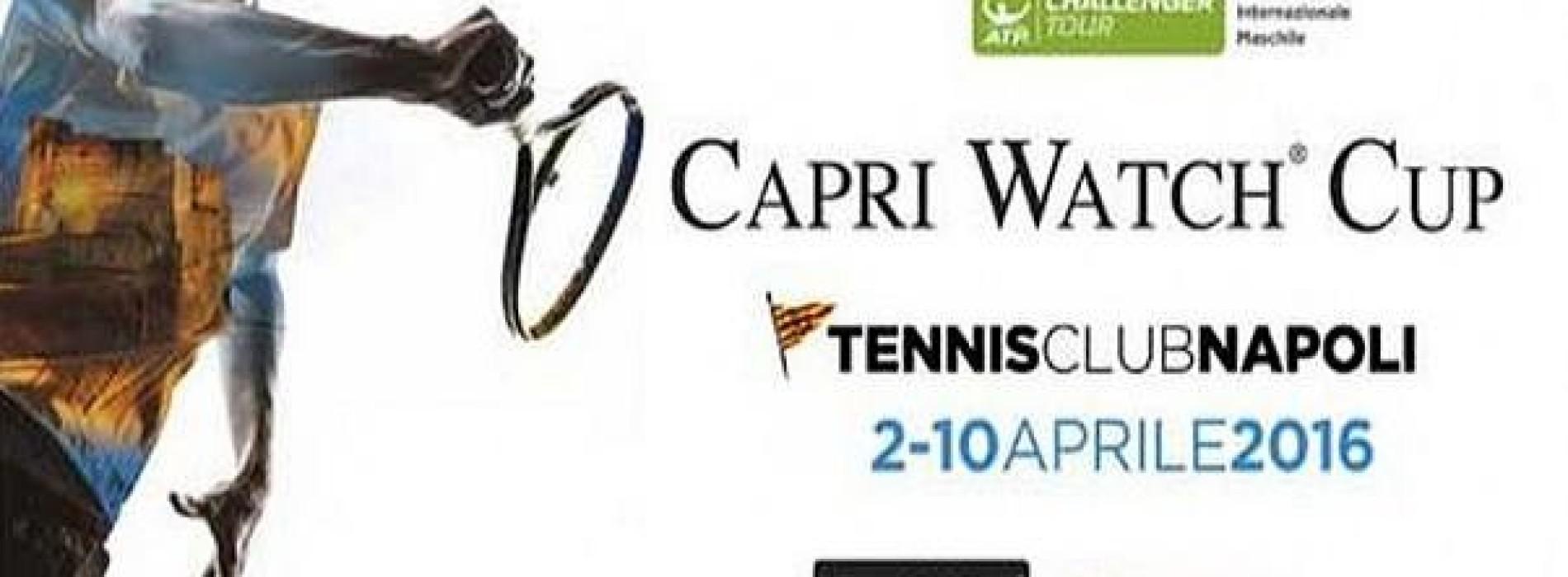 Capri Watch Cup 2016: torna il grande tennis a Napoli