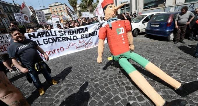 Il Pinocchio gigante. Fonte: gazzettadinapoli.it
