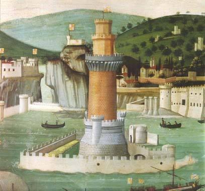 Tavola Strozzi: particolare della Torre Fonte: Wikipedia
