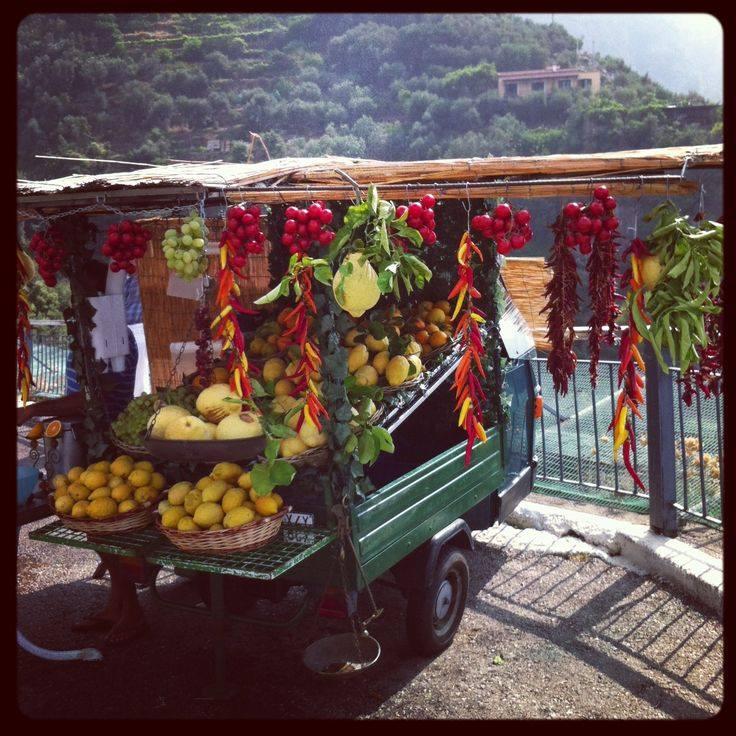 "Fonte: ""Amalfi Coast"" su Pinterest"