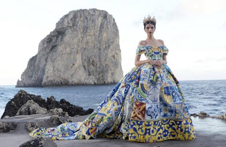Dal servizio Fotografico Dolce e Gabbana a Capri. Fonte: m.thenational.ae