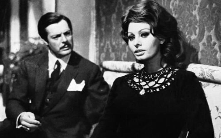 Sofia Loren e Marcello Mastroianni
