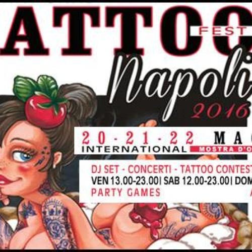 Festival del tatuaggio: tre giorni di festa alla Mostra d'Oltremare