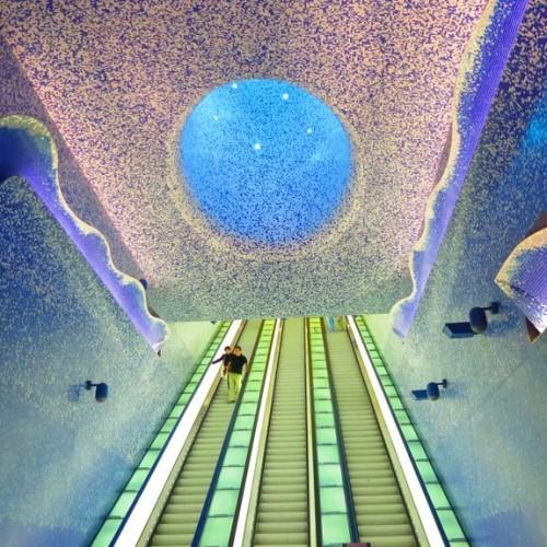 La spettacolare e innovativa stazione Toledo: orgoglio partenopeo