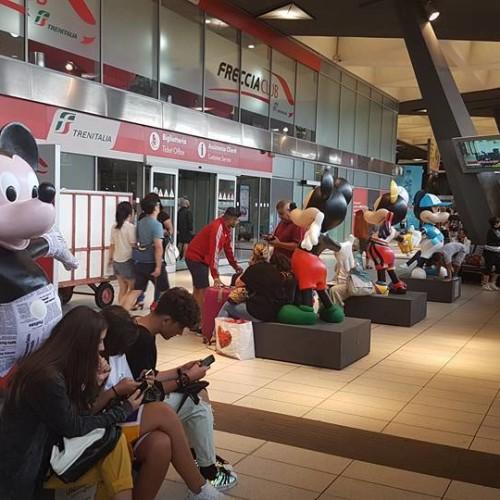 Topolino alla Stazione Garibaldi: la mostra Disney a Napoli