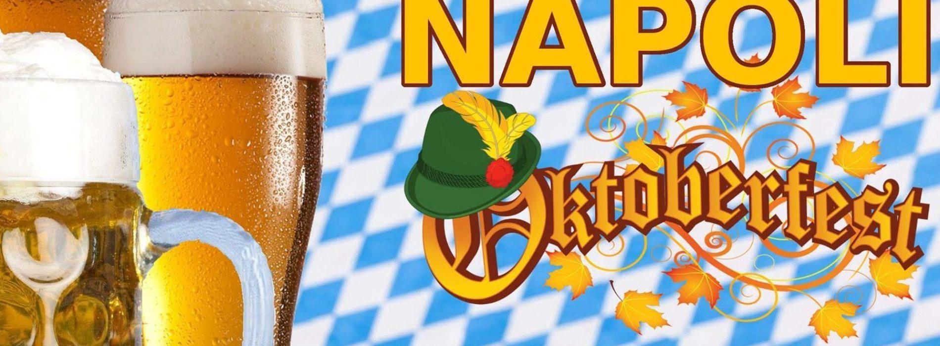 Oktoberfest: la festa della birra arriva a Napoli