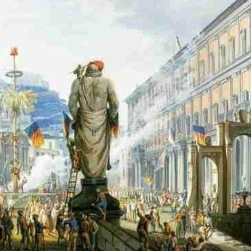 Ngopp' 'o gigante: storia del Gigante di Palazzo Reale