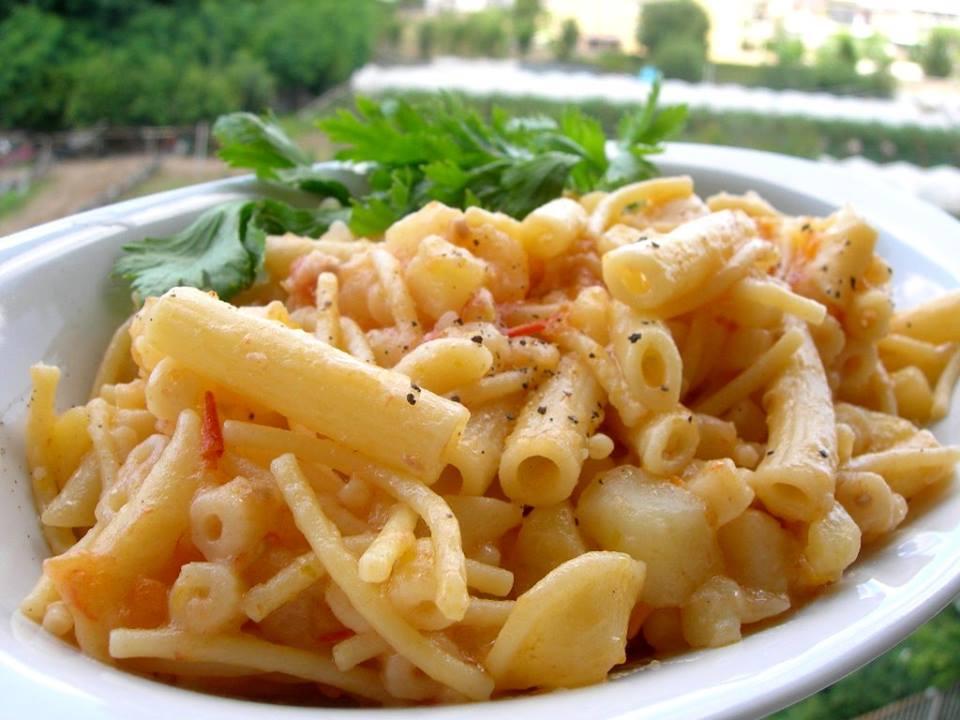 """Pasta Ammescata"". Fonte: pasqualinaincucina.blogspot.com"