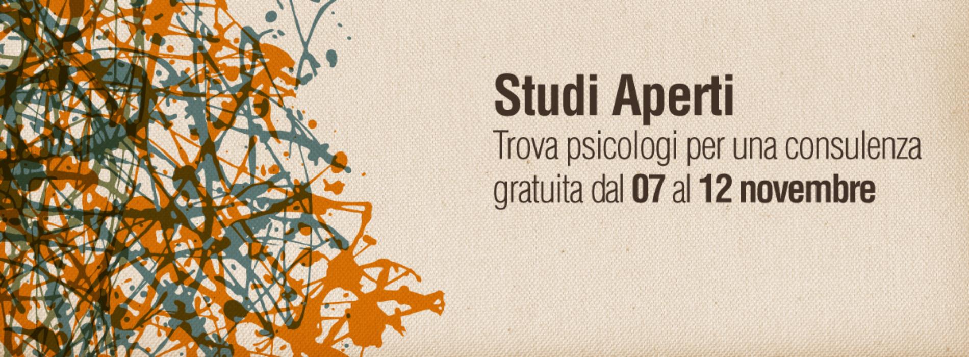 Settimana del Benessere Psicologico: Studi Aperti per una consulenza gratuita
