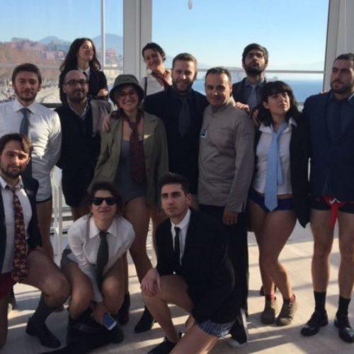 I #mutandati ritornano a Napoli e scelgono N'Albero per la loro iniziativa