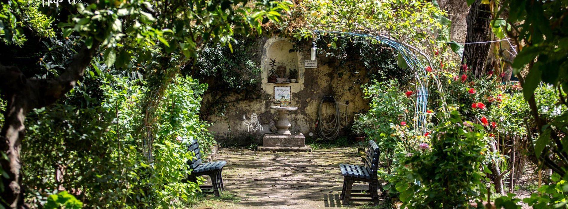 Il giardino di babuk un oasi nel cuore di napoli - Arte e giardino ...
