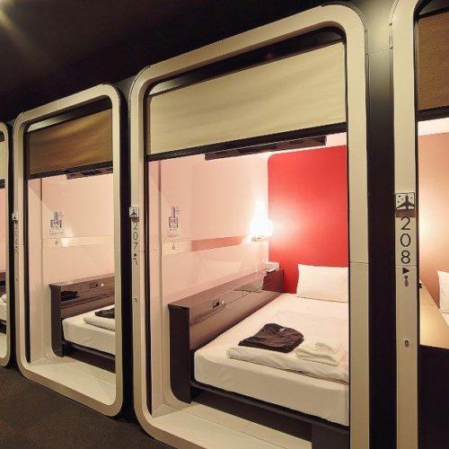Capsule hotel, il primo in Italia sarà a Napoli