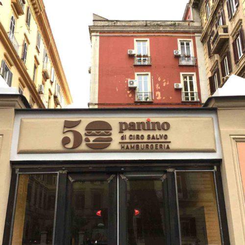 Ciro Salvo apre un nuovo Hamburger Store