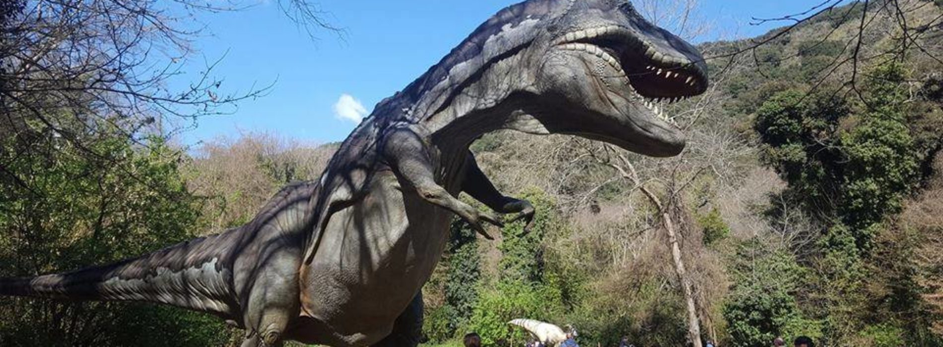 Riserva Naturale degli Astroni: una mostra dedicata ai dinosauri