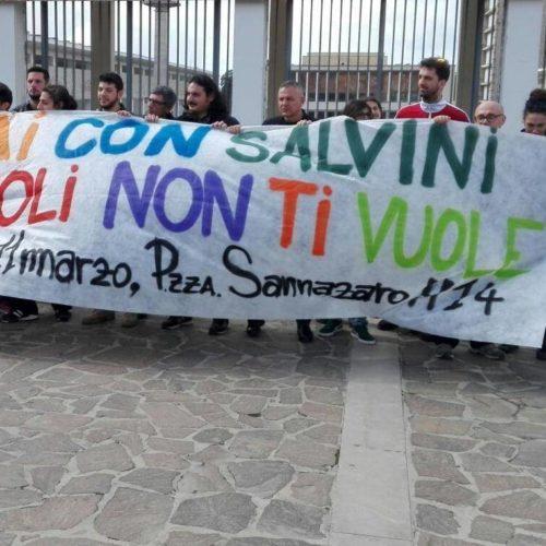 Salvini a Napoli: storie delle ingiustizie di una città