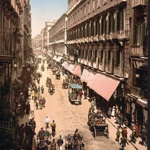 Quando via Toledo diventò via Roma