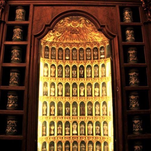 La farmacia storica degli incurabili e la scuola di medicina