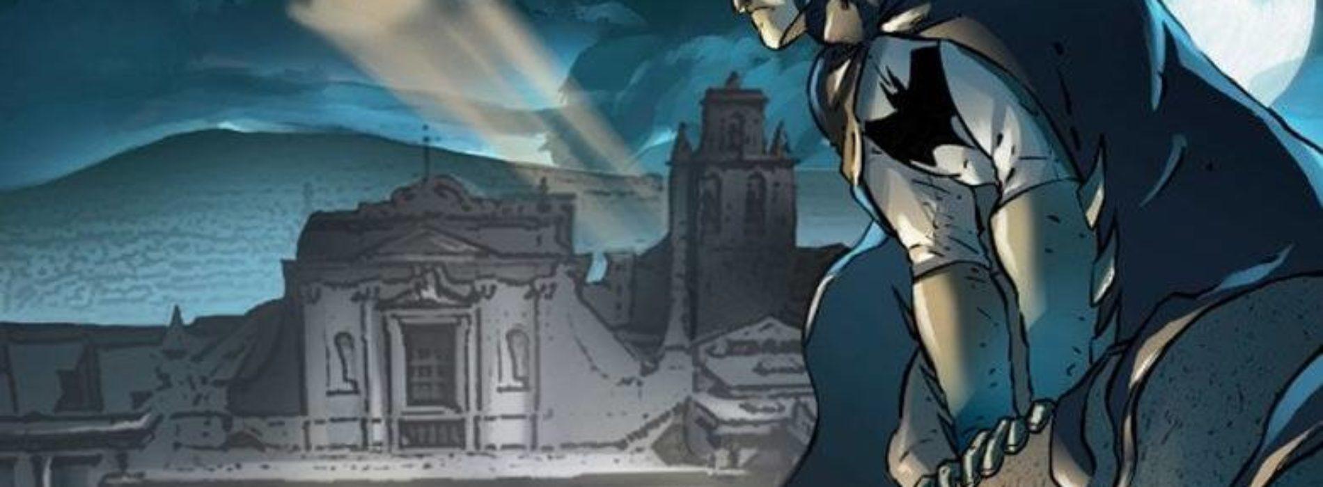 Batman arriva sulla Certosa di San Martino