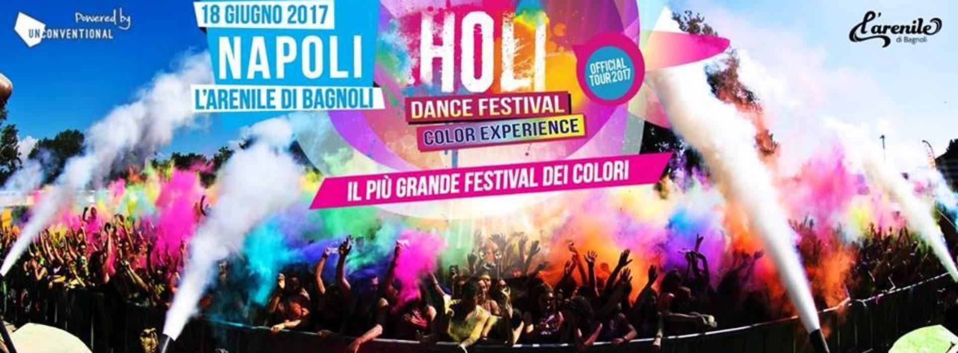HOLI DANCE FESTIVAL NAPOLI: l'imperdibile festa dei colori
