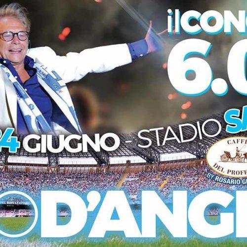 Nino D'Angelo: concerto allo Stadio San Paolo di Napoli per i suoi 60 anni