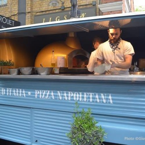 Sud Italia: la pizzeria ambulante a Londra
