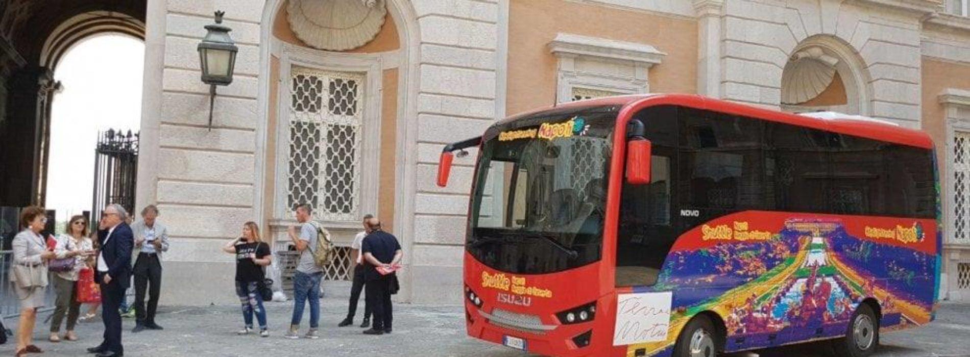 City Sightseeing: un nuovo percorso per visitare la Reggia di Caserta