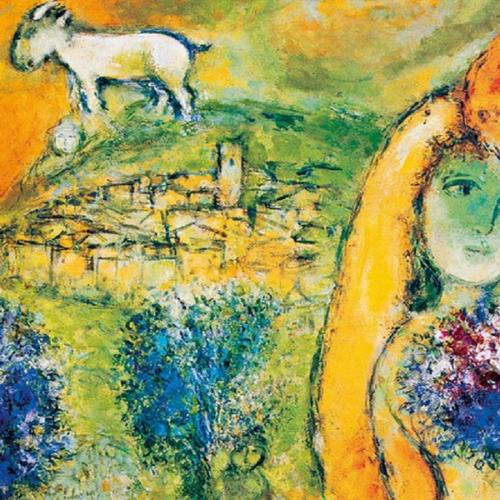 Chagall in mostra a Villa Fiorentino a Sorrento