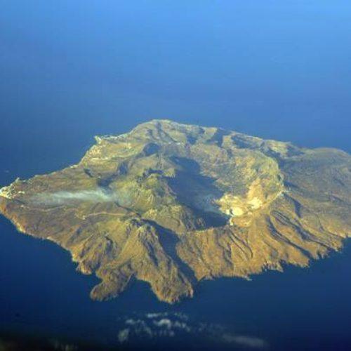 Il vulcano dell'isola di Ischia