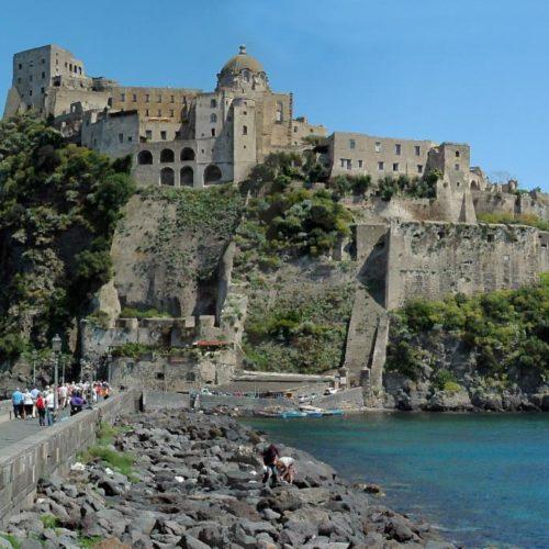 Il Castello Aragonese, fortezza ischitana
