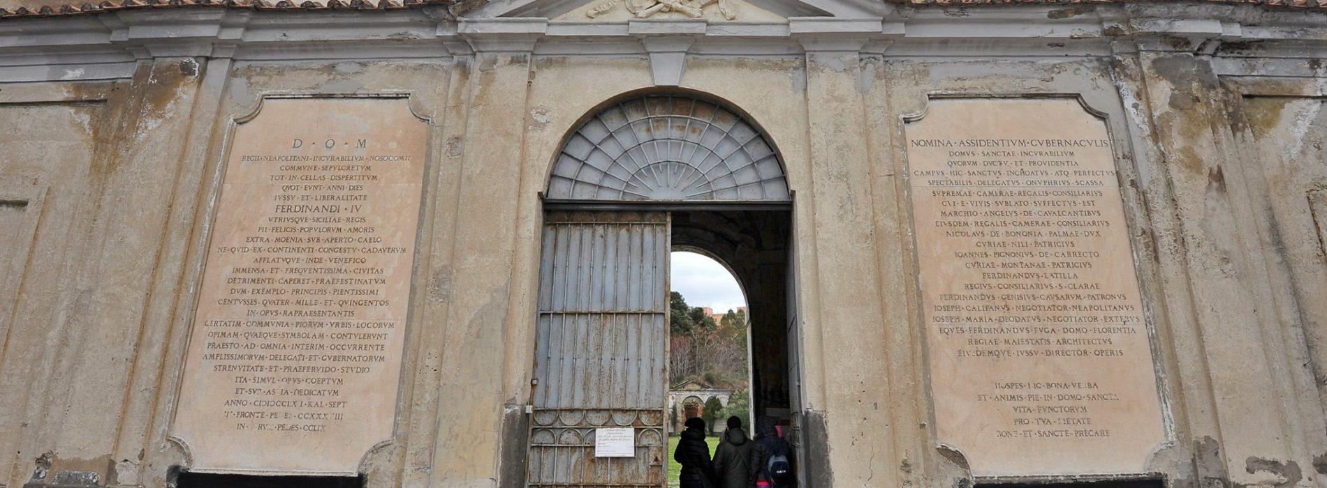 Il cimitero delle 366 fosse, il cimitero dei poveri