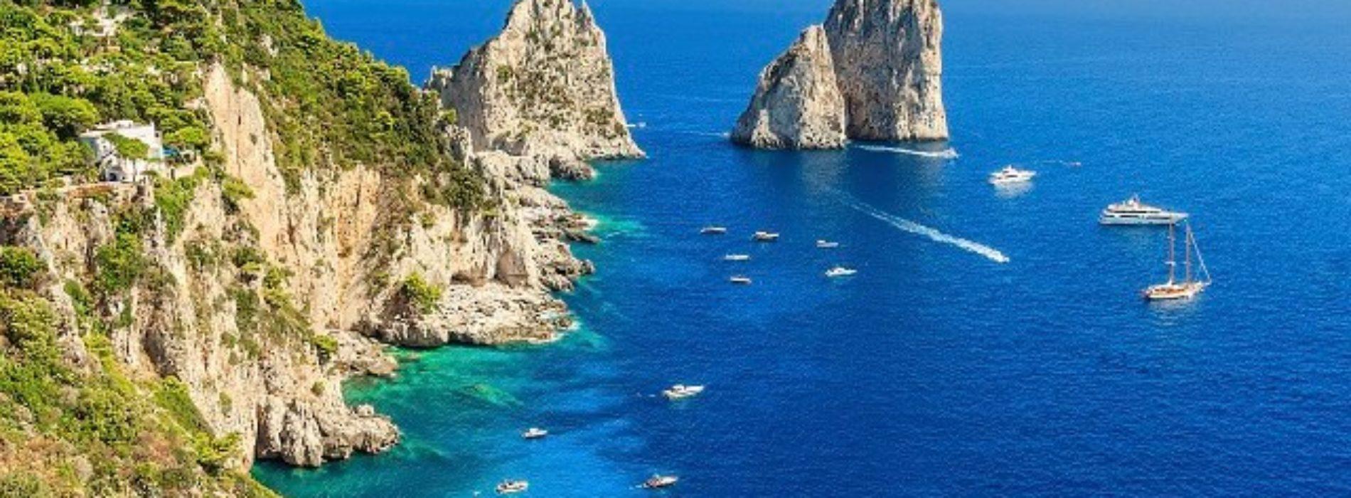 La magica Capri e i suoi Faraglioni