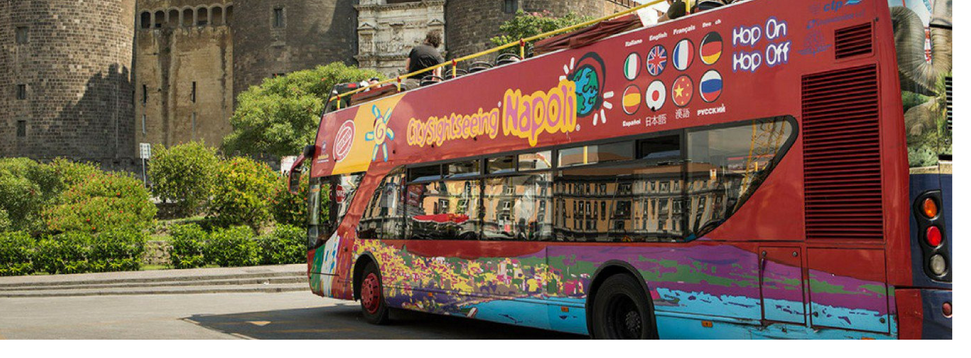 Tour hop-on/hop-off del centro di Napoli