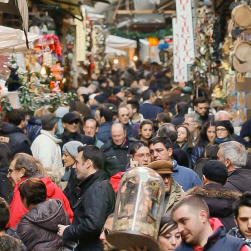 San Gregorio Armeno:la via del presepe